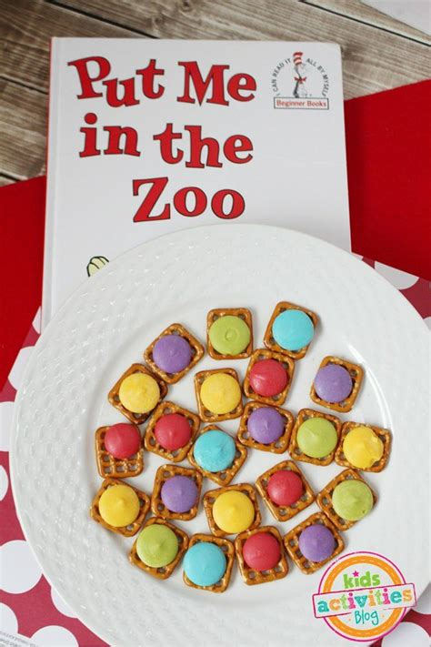 put me in the zoo mix snack dr seuss treats and america