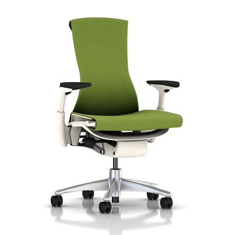Balance Chair Base by Herman Miller Embody Chair Green Apple Balance With White