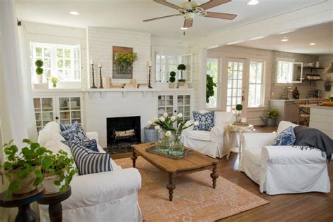 get on fixer upper fixer upper living room get the look