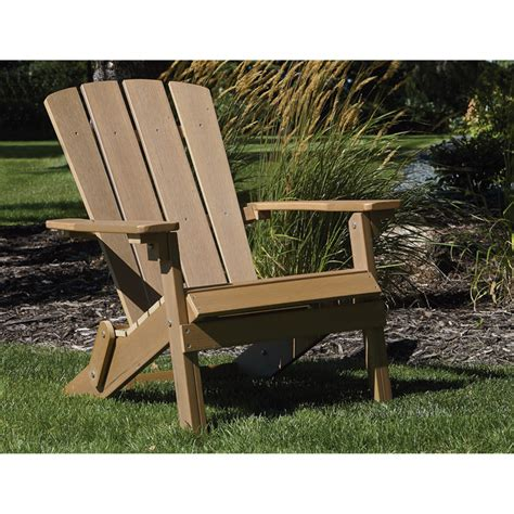 Brown Plastic Adirondack Chairs by Stonegate Designs Folding Resin Adirondack Chair Brown