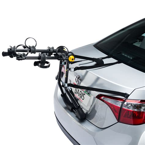 Car Trunk Bike Rack by Bike Porter Trunk 3 Bike Car Rack Saris