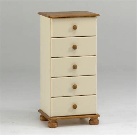 richmond 5 drawer narrow chest richmond