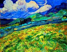 Landscape Paintings Gogh With Courage Vincent Gogh Theempathyqueen