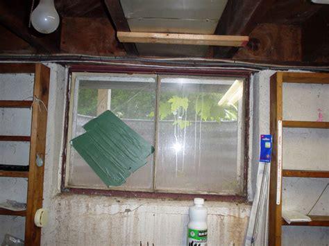 leaking basement windows what causes basement window