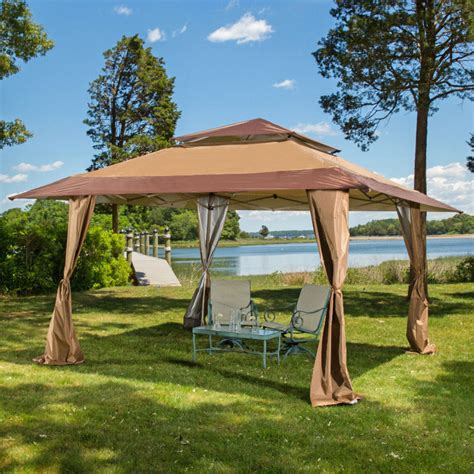 13 X 13 Pop Up Gazebo Patio Outdoor Canopy Tent Ebay Tent For Backyard