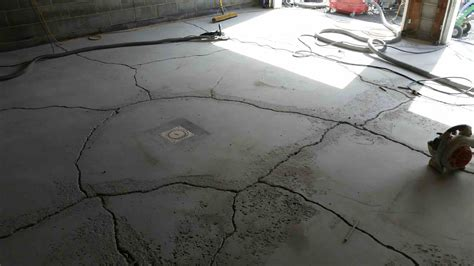 How To Fix Garage Floor Concrete Cracks   Best Home Ideas