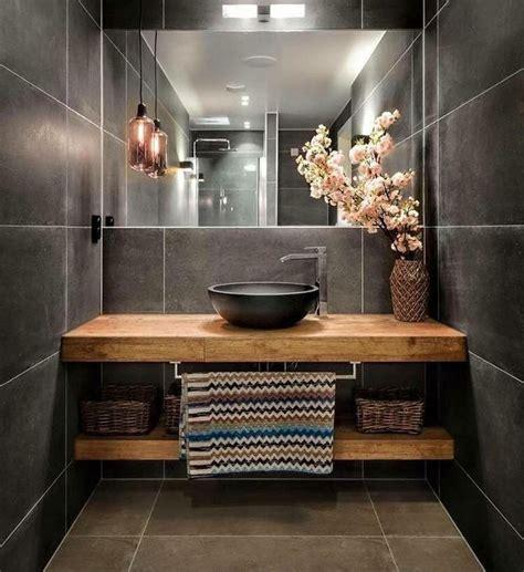 badezimmer grau holz best 25 wooden bathroom ideas on scandinavian