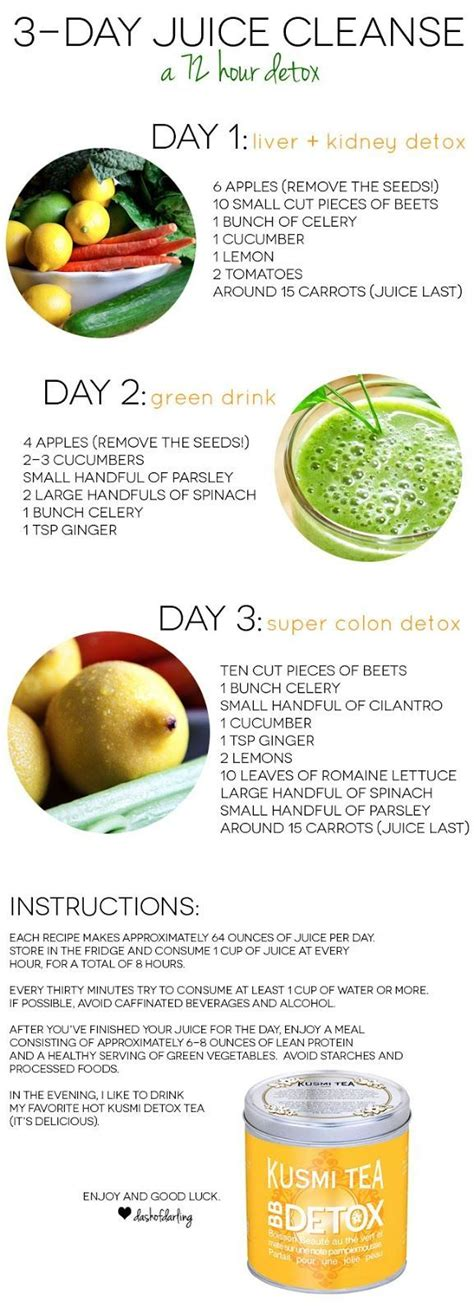 14 Day Juice Detox by Best 25 Detox Juices Ideas On