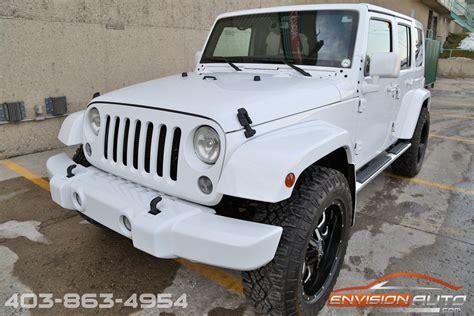 white jeep sahara 2015 2015 jeep wrangler unlimited sahara 4 x 4 custom show