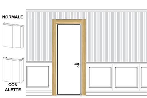 cornici per porte interne in legno coprifili per porte per boiserie in legno