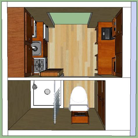 8x8 house plans lamar s 8x8 tiny house design