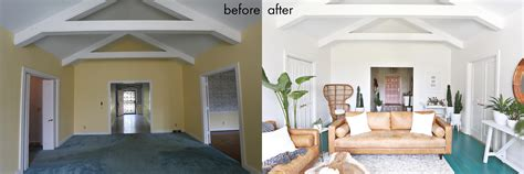 before the living room is rather long and narrow the fireplace elsie s living room tour before after a beautiful mess