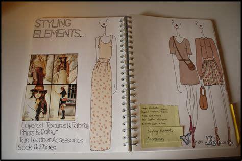 sketchbook book fashion scrapbook clarissa wright s