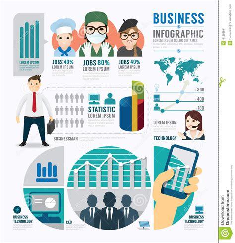 concept design job requirements design template business concept infographic template