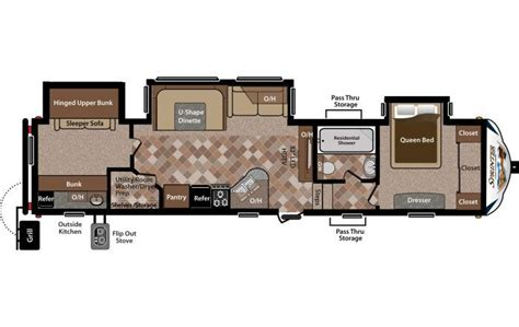 sprinter fifth wheel floor plans 2014 keystone sprinter copper canyon 324fwbhs fifth wheel