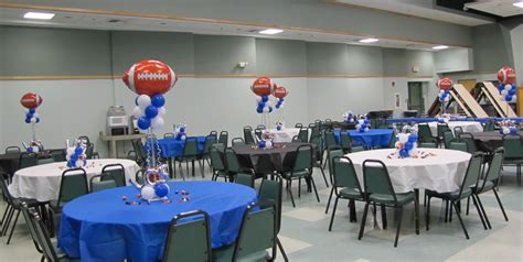 Football Banquet Decorations by Event Decorating Company Football Banquet