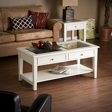 amazon com southern enterprises valley cocktail table