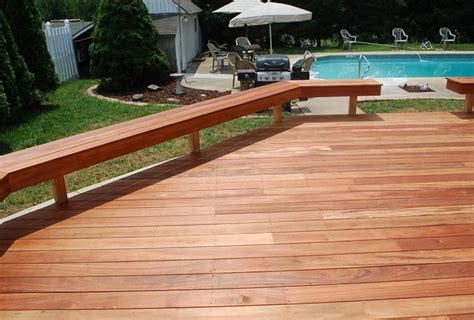 deck railing bench design plans deck bench railing plans home design ideas