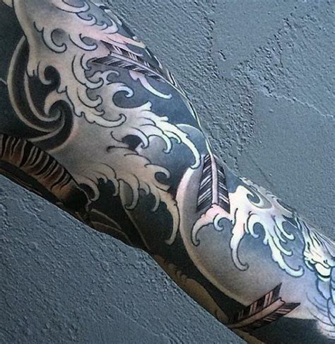 water sleeve tattoo 80 water tattoos for masculine liquid designs