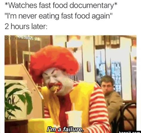 Memes About Food - fast food memes obsev
