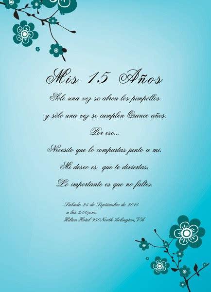 texto biblico para carta a una quinceaera 10 modelos de invitaciones de 15 a 241 os cristianas