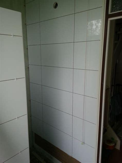 afschot naar douche goot met 60x60 tegels