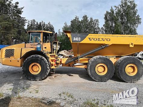 the volvo site volvo wozidlo a40d site dumpers price 163 51 521 year