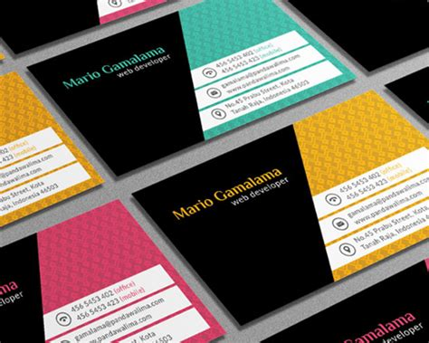 10 business card template 10 new psd business card templates for photoshop