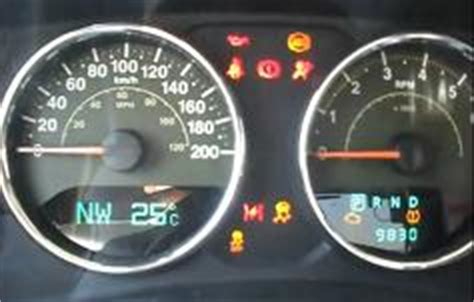 Jeep Jk Check Engine Light Reset Service Light Jeep Wrangler Reset Service