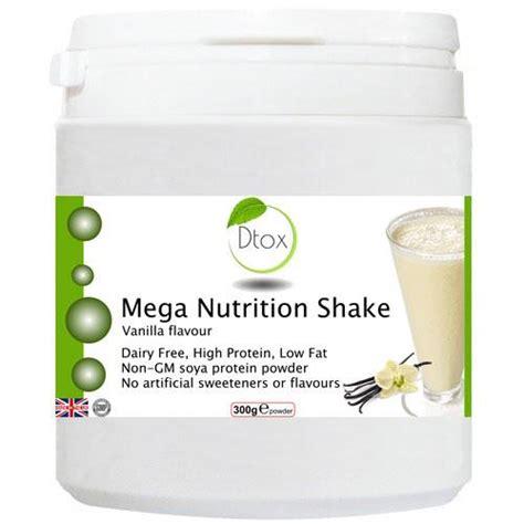 Detox Shakes Uk by Mega Nutrition Shake Vanilla Flavour Detox Foods