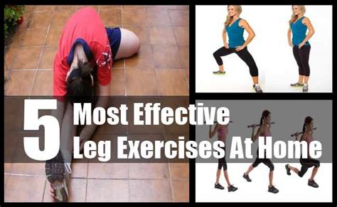 5 most effective leg exercises at home best home leg