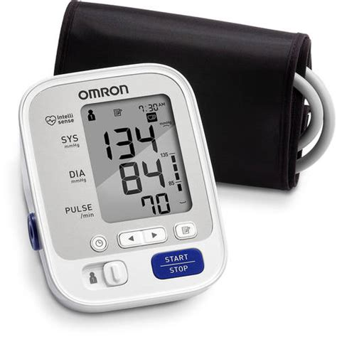 omron 5 series arm blood pressure monitor with cuff