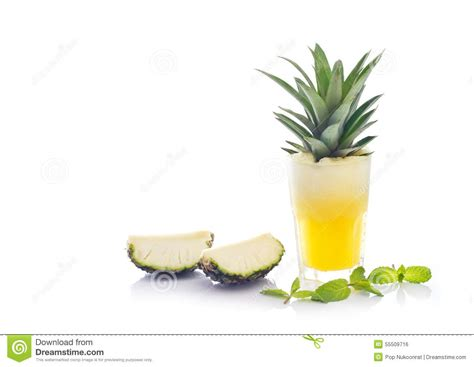 Detox Drinks White Background by Detox Diet Detox Water Pineapple Juice And Mint With
