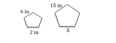 Find Similar Skill 35 Find The Missing Side Of Similar Figures Using Proportions Proprofs