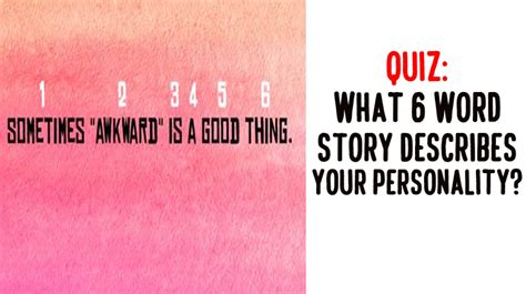 quiz what tattoo descibes your personality quiz what 6 word story describes your personality
