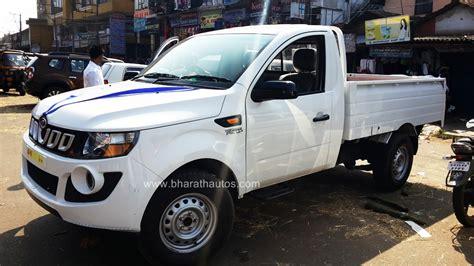 mahindra loading vehicle mahindra imperio up sales commence ahead of launch