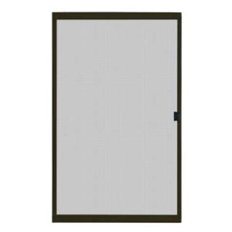 Bronze Screen Door by Unique Home Designs 48 In X 80 In Standard Bronze Metal