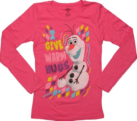 T Shirt Frozen frozen olaf warm hugs sleeve youth t shirt