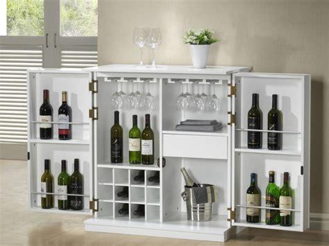 meuble de bar gordon h 233 v 233 a mdf weng 233 ou blanc