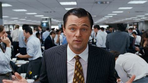 leonardo dicaprio the biography review the wolf of wall street movie review rating trailer