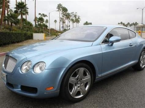 light blue convertible bentley 2006 bentley continental gt