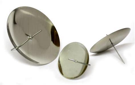 kerzenhalter glas adventskranz kerzenhalter adventskranzstecker 60 mm silber kerzenhalter