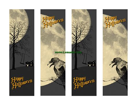 templates for bookmarks in publisher halloween bookmarks microsoft publisher templates for