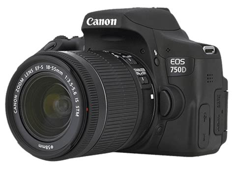 Canon Eos 750d Kit With Ef S 18 55mm Is Stm Built In Wifi canon eos 750d kit ef s 18 55mm is stm