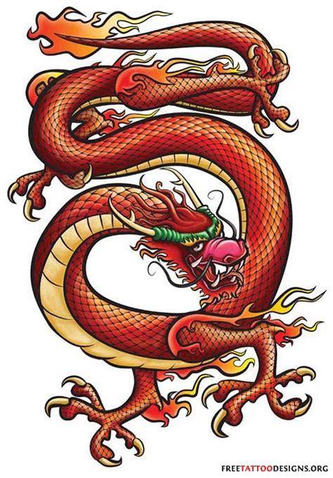 red dragon tattoo designs tattoos