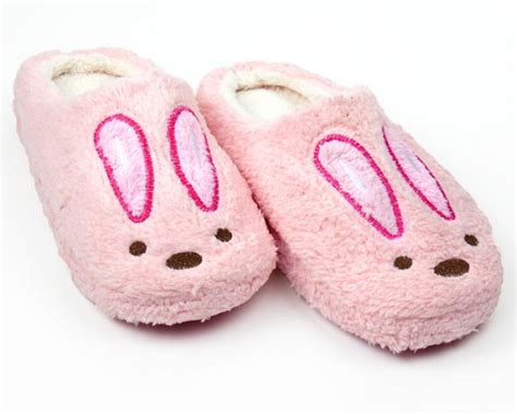 rabbit slippers for adults pink bunny slippers pink bunny slippers