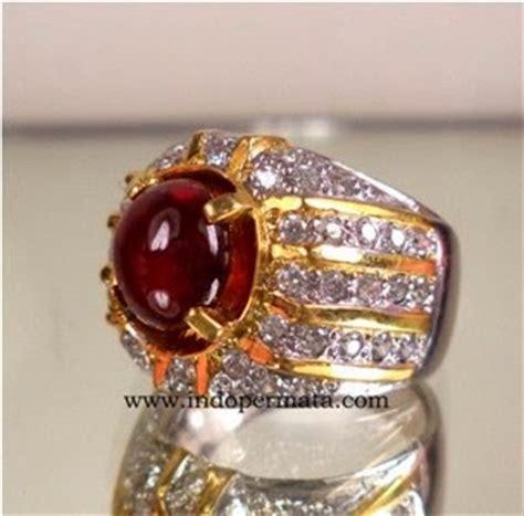 Promo Cincin Ruby Pigeon Blood Ring Perak Mewah Kekerasan 10 Mh batu permata merah delima 223 toko batu permata batu permata batu mulia