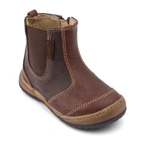 path brown boys zip boots