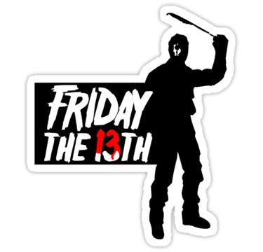 Friday The 13th Stickers