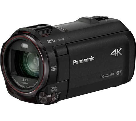 panasonic 4k panasonic hc vx870eb k 4k ultra hd camcorder black deals